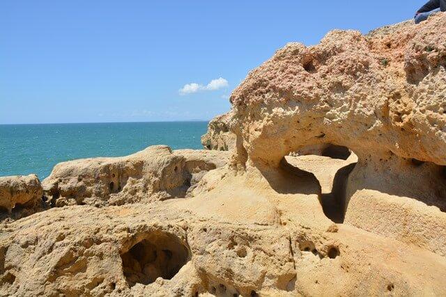 Bezienswaardigheden Algarve - Algar Seco