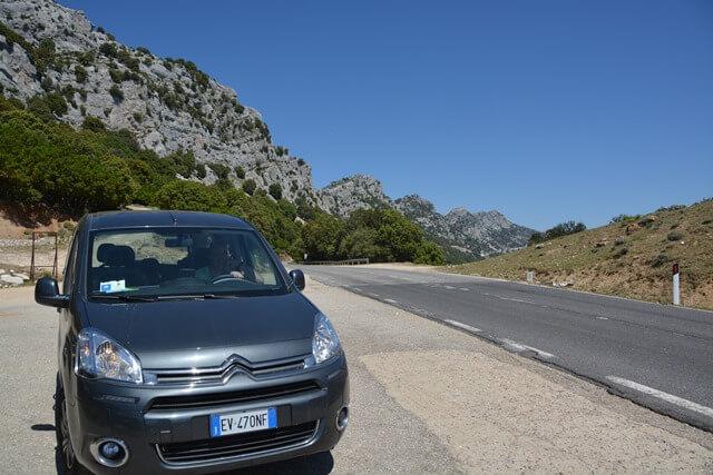 Auto huren Sardinië