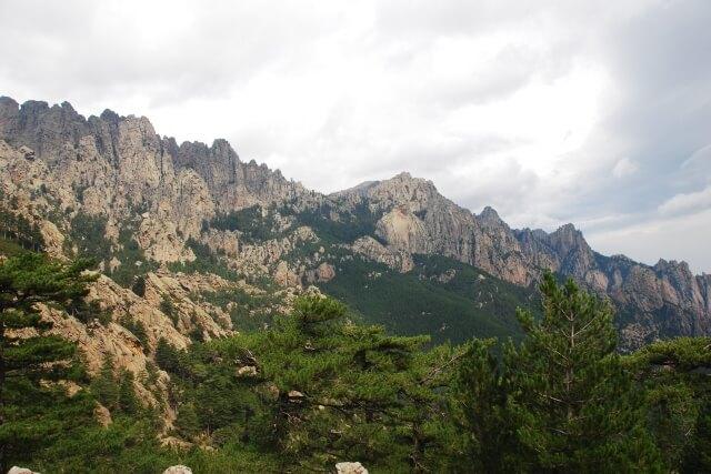 Aiguilles de Bavella - Corsica