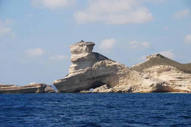 Boot van Eiland Lavezzi naar Bonifacio - Corsica