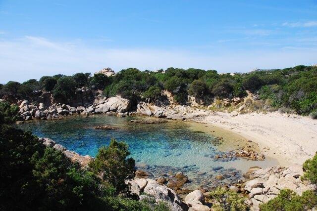 Baai bij Tizzano - Corsica
