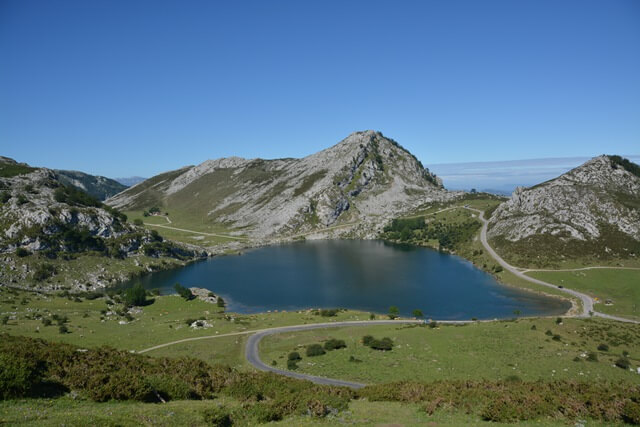 Enol meer - Asturië, meren van Covadonga, Picos de Europa