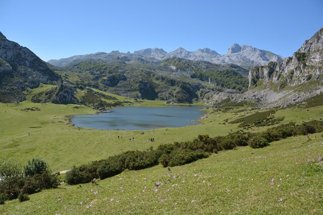Bezienswaardigheden Asturië Spanje - Meren van Covadonga