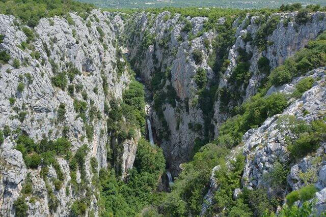 Bezienswaardigheden Dalmatië Kroatië - Cetina kloof