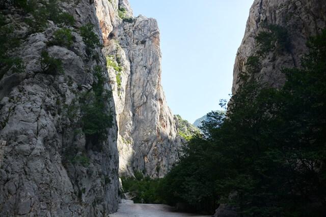 Bezienswaardigheden Dalmatië Kroatië - Paklenica National Park