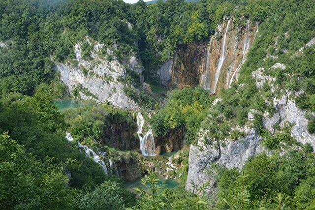 Bezienswaardigheden Dalmatië Kroatië - Meren van Plitvice