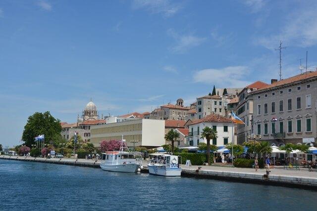 Bezienswaardigheden Dalmatië Kroatië - Sibenik
