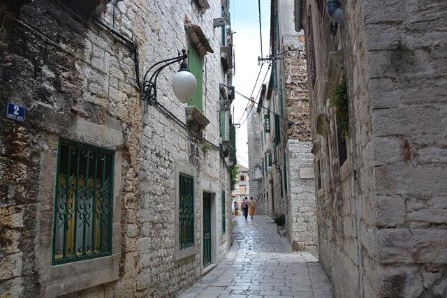 Sibenik Dalmatië Kroatië