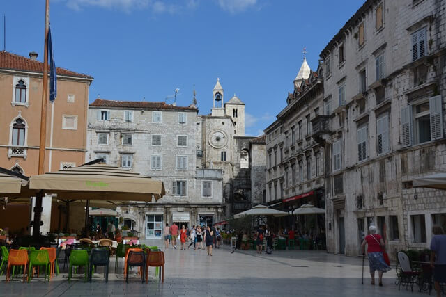 Split Kroatië - oude stad