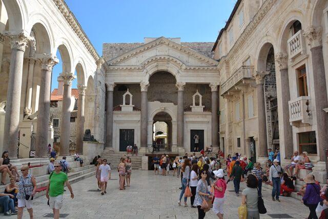 Bezienswaardigheden Dalmatië Kroatië - Split
