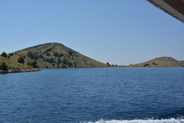 Kornati eilanden Dalmatië Kroatië