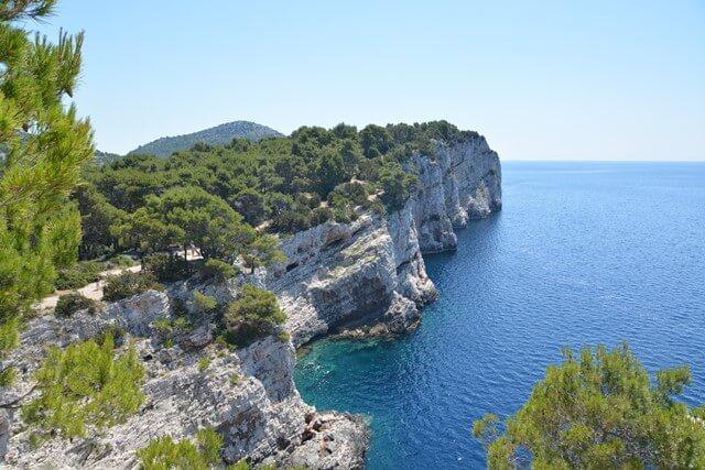 Bezienswaardigheden Dalmatië Kroatië - Kornati eilanden en Telascica