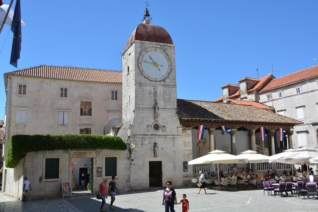 Trogir Dalmatië Kroatië - Oude stad
