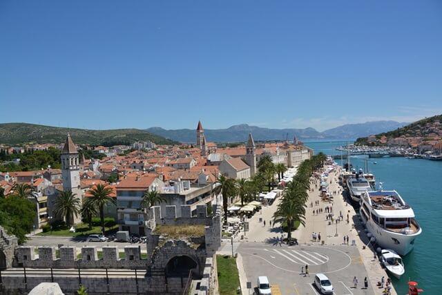 Bezienswaardigheden Dalmatië Kroatië - Trogir