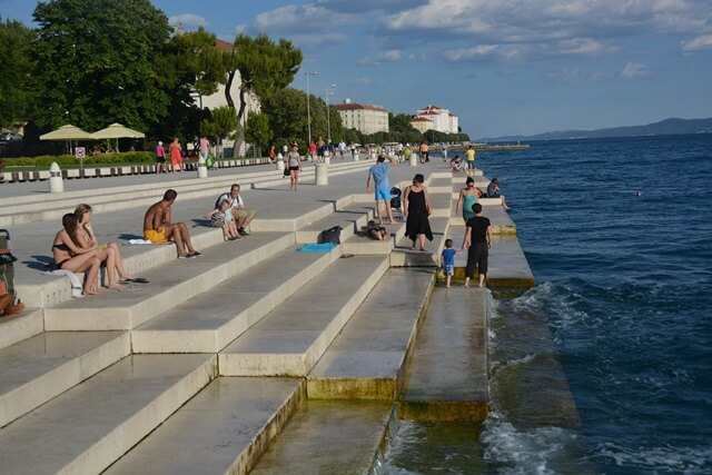 Zadar Dalmatië Kroatië