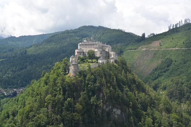 Kasteel Hohenwerfen - Salzburgerland Oostenrijk