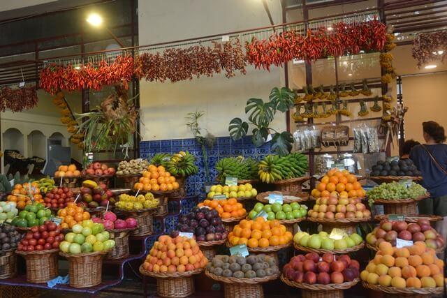 Mercado dos Lavradores Funchal - Madeira bezienswaardigheden