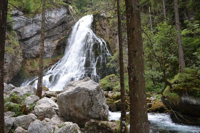 Gollinger waterval - Salzburgerland Oostenrijk