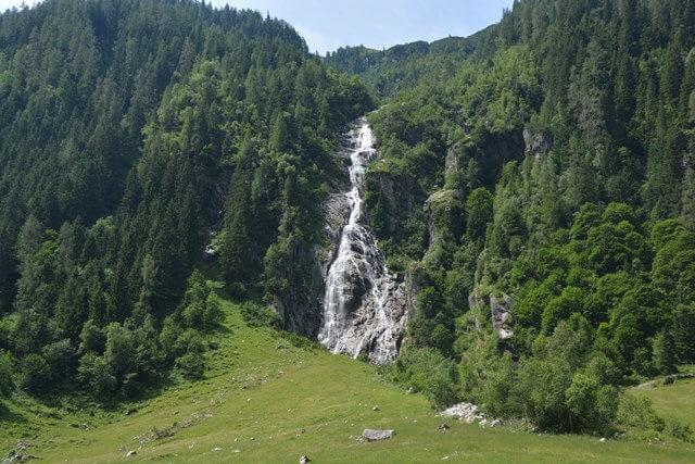 Habachtal - Watervallen Salzburgerland Oostenrijk