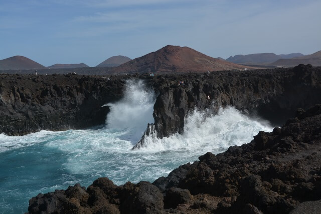 Los Hervideros Lanzarote - mooiste natuur Lanzarote