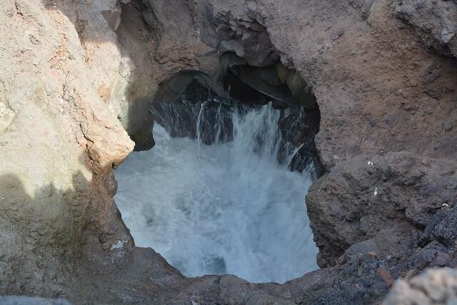 Grotten westkust Lanzarote - bezienswaardigheden Lanzarote