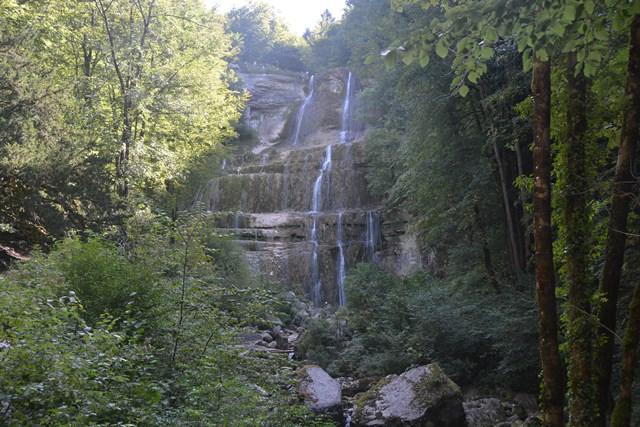 l'Eventail, Hérisson, Jura