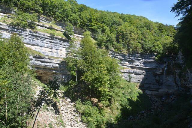 Wandelen in de Jura - Watervallen van Hérisson