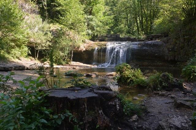Watervallen van Hérisson - Bezienswaardigheden Jura