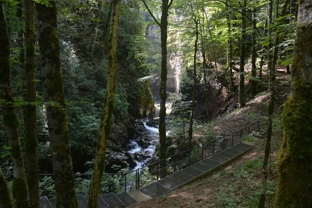 Kloof van La Langouette, Jura, Frankrijk