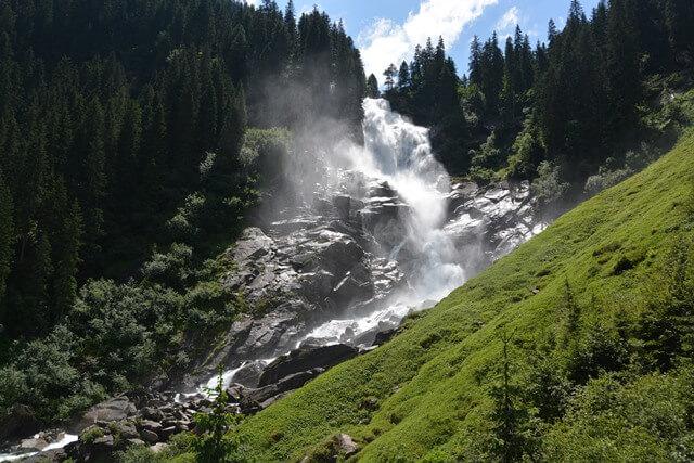 Krimmler waterval - Salzburgerland Oostenrijk