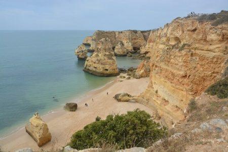 Praia da Marinha strand