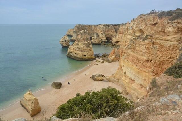 Bezienswaardigheden Algarve - Praia da Marinha