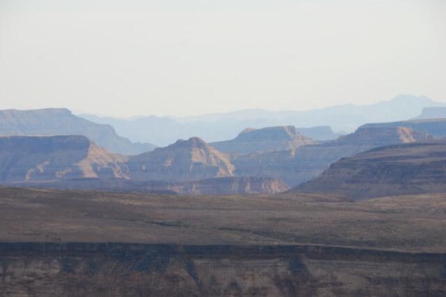 Zonsondergang Fish River Canyon, Namibië