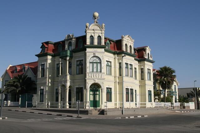 Hohenzollern house, Swakopmund, Namibie