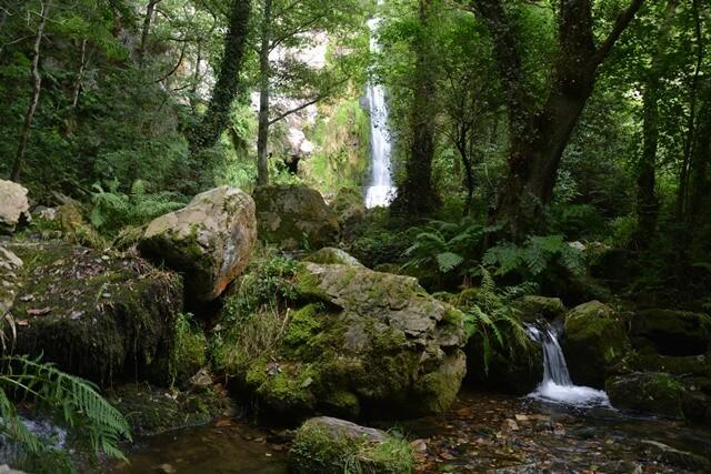 Bezienswaardigheden Asturië Spanje - Watervallen van Oneta