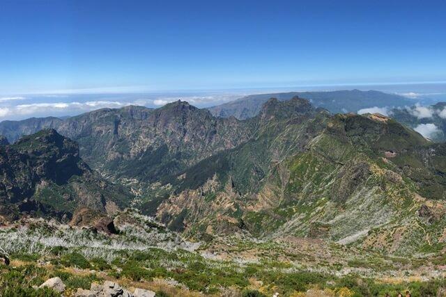 Bezienswaardigheden Madeira - Pico Ruivo