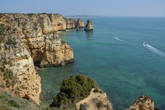 Bezienswaardigheden Algarve - Ponte da Piedade