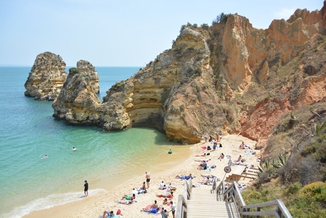Praia do Camilo Lagos - Stranden Algarve