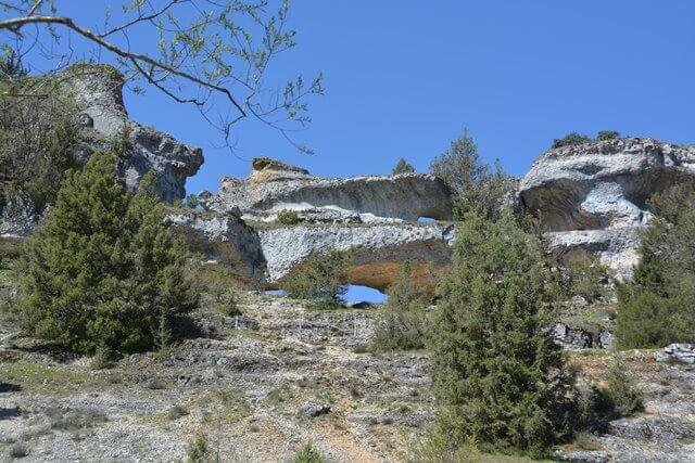 Rio Lobos canyon - Soria, Castilië en Leon Spanje bezienswaardigheden