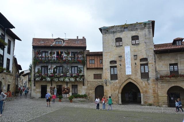 Bezienswaardigheden Cantabrië Spanje - Santillana del Mar