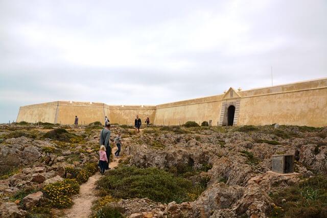 Fortaleza fort - Sagres Algarve