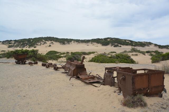 Duinen van Piscinas - Bezienswaardigheden Sardinië