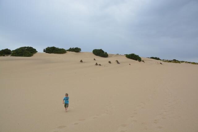 Duinen van Piscinas - Sardinië