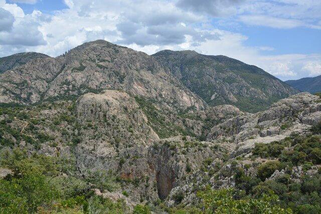 Watervallen van Villacidro - Sardinië