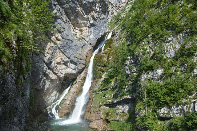Bezienswaardigheden Slovenië - Meer van Bohinj en Savica waterval
