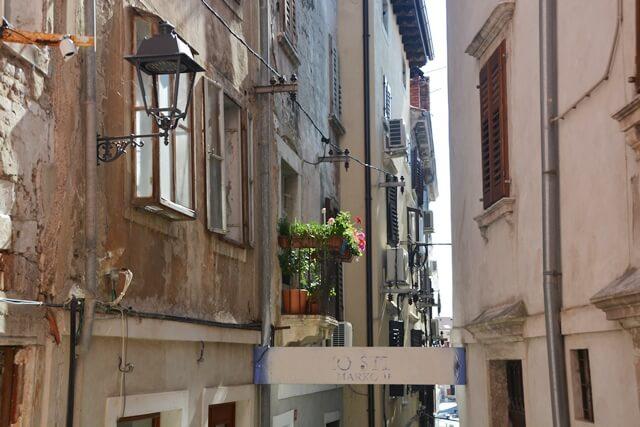 Piran - straatbeeld