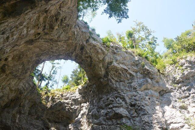 Rakov škocjan - Kleine natuurlijke brug (Mali Naravni most)