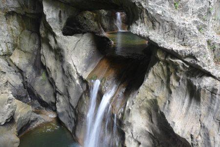 Grotten van Škocjan - waterval
