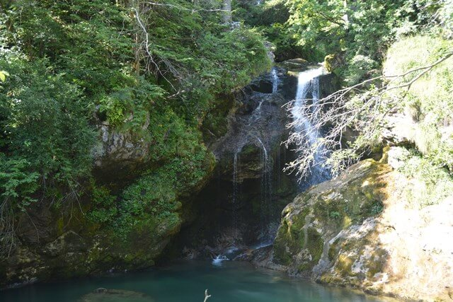 Sum waterval - Vintgar kloof