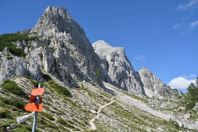 Wandelen in Slovenië - Vrsic pas